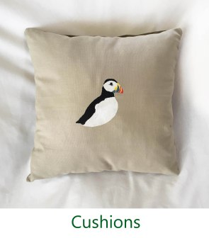 Cushions on Nature Crafts