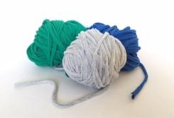 Upcycled yarns
